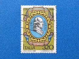 1980 ITALIA FRANCOBOLLO USATO STAMP USED FILIPPO MAZZEI - 6. 1946-.. Republic