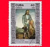 CUBA - 1987 - Il Fallimento, Dipinto Di Ignacio Zoluaga Nel Museo Nazionale Di Belle Arti, L'Avana - 40 - Cuba