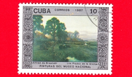 CUBA - 1987 - Azienda Agricola, Dipinto Di Alfred De Breanski Nel Museo Nazionale Di Belle Arti, L'Avana - 10 - Cuba