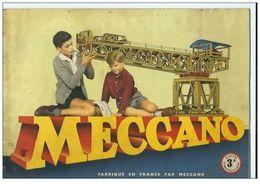 Manuel D'instructions Meccano 3A La Mécanique En Miniature De 1959 - Meccano
