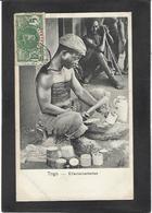 CPA TOGO Afrique Noire Circulé Type Ethnic Métier - Togo