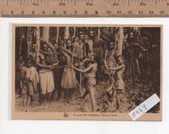 8377  GROUPE CHASSEURS LA FORET - Congo Belga - Altri