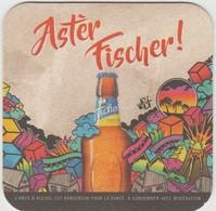 Sous-bocks **neuf ** FISCHER  Ile De LA REUNION Océan Indien.Biere Birra Cerveza Piwo Pils 1 Scanne Recto/verso - Sous-bocks