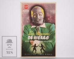 Original 1939 The Man In The Iron Mask Cinema / Movie Advt Leaflet - Louis Hayward, Joan Bennett, Warren William - Cinema Advertisement