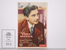 Original 1944 This Happy Breed Cinema / Movie Advt Leaflet - Robert Newton, Celia Johnson, Amy Veness / David Lean - Cinema Advertisement