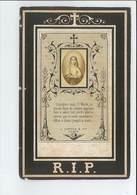 ZUSTER M APPOLONIA = SILVIA BRACKE ° ZAFFELARE 1795 KLOOSTER ZUSTERS VAN LIEFDE GENT + 1869 - Devotion Images
