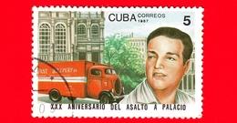 CUBA - 1987 - José Antonio Echeverria - 30 Anni Dell'attacco Al Palazzo Presidenziale - 5 - Cuba