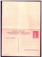 Polonia/Pologne/Poland: Intero, Stationery, Entier, Re Casimiro IV, King Casimir IV, Roi Casimir IV - Case Reali