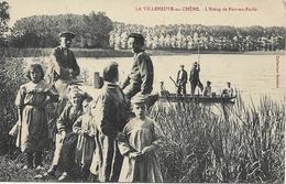 LA VILLENEUVE AU CHENE L' Etang De Fort En Paille - Frankreich