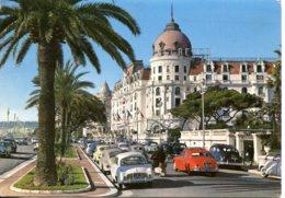 CPSM - NICE - HOTEL NEGRESCO - PROMENADE DES ANGLAIS - Cafés, Hôtels, Restaurants