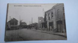 Carte Postale ( U1 ) Ancienne De Bully Grenay , Passage A Niveau Du Chemin De Fer - Autres Communes