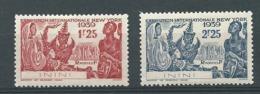 Inini   Yvert N°   29 / 30 **    Bce 20606 - Inini (1932-1947)