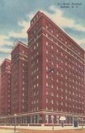 USA 1920 - 5 Fach Frankierung Auf Ak NEW YORK Hotel Richford Buffalo, Flugpost - Buffalo