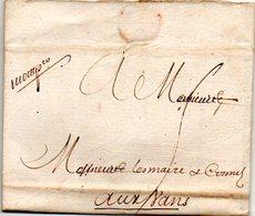 H929 LAC De Montpellier Herault 1756 - 1701-1800: Precursors XVIII