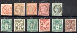 COLONIES GENERALES - Lot Neufs - Cote: 1070,00 € - Voir Scan Et Descriptif - Frankreich (alte Kolonien Und Herrschaften)