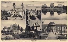 DEBRECEN - Mehrbilderkarte Mit 4 Fach Frankierung - Ungarn