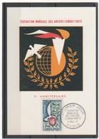 FR 1961 ANCIENS COMBATTANTS - Cartoline Maximum
