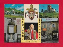 CARTOLINA VG ITALIA - SOTTO IL MONTE GIOVANNI XXIII - Ricordo Vedutine Multivue - 10 X 15 - ANN. 198? - Bergamo