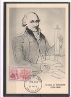 FR 1961 COULOMB - Cartoline Maximum