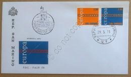 FDC F.A.I.P. San Marino 1971 - Europa - Busta Non Viaggiata - Francobolli