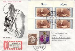 D+ Deutschland 1982 1983 Mi 1122 1196 Robert Koch, Weihnachten (UNIKAT / ÙNICO / PIÉCE UNIQUE / JEDINEČNÝ) - [7] République Fédérale