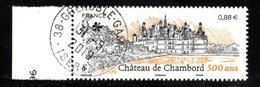 France 2019.Château De Chambord (500 Ans).Cachet Rond Gomme D'origine. - France
