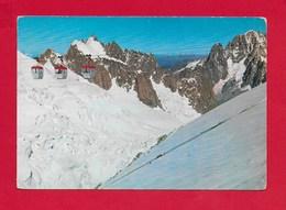 CARTOLINA NV ITALIA - COURMAYEUR (AO) - Funivia Dei Ghiacciai - Aig. Plan Grepon Dru Verte - 10 X 15 - ANN. 1964 - Altre Città