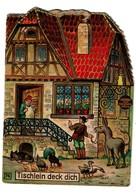 Brüder Grimm Frères - Tischlein Deck Dich - 4 Pages - Offert Par La Pharmacie Watry à Luxembourg  - 3 Scans - Livres Pour Enfants