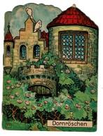 Dornröschen - La Belle Au Bois Dormant - 4 Pages - Offert Par La Pharmacie Watry à Luxembourg  - 3 Scans - Livres Pour Enfants