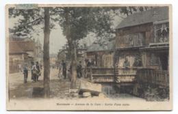 60 - HERMES - AVENUE DE LA GARE - SORTIE D'USINE - BON ETAT - VOIR ZOOM - Sonstige Gemeinden