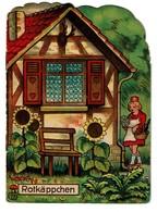 Rotkäppchen / Le Petit Chaperon Rouge - 4 Pages - Offert Par La Pharmacie Watry à Luxembourg  - 3 Scans - Livres Pour Enfants