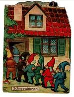 Schneewittchen / Blanche Neige - 4 Pages - Offert Par La Pharmacie Watry à Luxembourg  - 3 Scans - Livres Pour Enfants