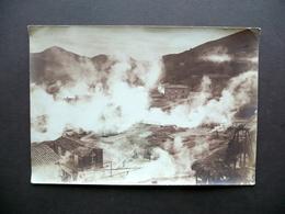 Fotografia Originale Industria Boracifera Castelnuovo Val Di Cecina 1911 - Foto