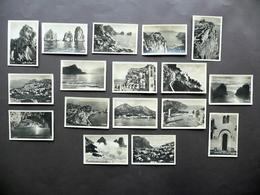 17 Fotografie Originali Capri Vedute Grotta Azzurra Faraglioni Villa Jovis - Foto