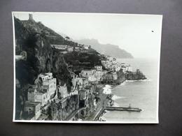 Fotografia Originale Costiera Amalfitana Amalfi Foto Troncone Napoli Anni '20 - Foto