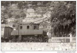 CN 4 15 Treno FS Locomotore E 550.027 Laigueglia Savona Rairoad Treain Railweys Treni - Eisenbahnen