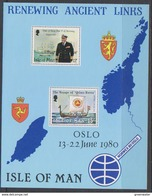 Isle Of Man 1980 Renewing Ancient Links M/s ** Mnh (42920A) - Man (Eiland)