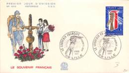 [406425]B/TB//-France  - (59) Lille, Le Souvenir Français, Fleurs - Végétaux