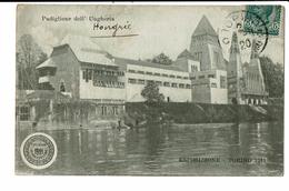 CPA - Carte Postale -Italie - Torino- Exposition Universelle - Padiglione Dell Ungheria 1911 VM3220 - Exposiciones
