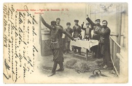 Carte Postale Ancienne Russie  - Types De Caucase 76 - Russie