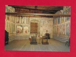 CARTOLINA NV ITALIA - Castello Di FENIS - Museo Dell'Arredamento Valdostano - Cappella Sala Del Trono - 10 X 15 - Altre Città