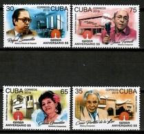 Cuba 2019 / Music Cuban Musicians Singers & Composers MNH Musik Musica Músicos Compositores Y Cantantes / Cu13311  C3 - Música