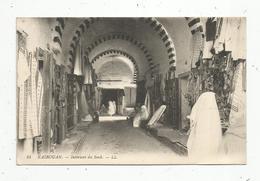 Cp, TUNISIE , KAIROUAN , Intérieur Du Souk,  Vierge - Tunisie