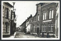 +++ CPA - Photo Carte - Foto Kaart - HAMME - Steegstraat En Post - Posterijen  // - Hamme