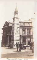 RPPC REAL PHOTO POSTCARD  PLYMOUTH ENGLAND 1919 - Plymouth