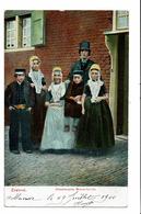 CPA - Carte Postale -Pays Bas - Zeeland Walchersche Boerenfamilie- -  VM3222 - Kostums