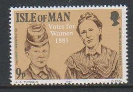 Isle Of Man 1981 Votes For Women 1v ** Mnh (42921D) - Man (Eiland)