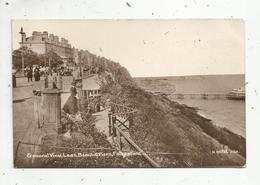 Cp,  ALLEMAGNE ,  KENT ,  FOLKESTONE , General View , Leas ,  Beach & Piers,  Voyagée 1913 - Folkestone