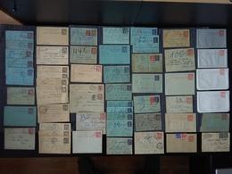 Collections D' Entiers Pneumatiques Au Type Chaplain Et Semeuse :   52 Pièces Neuves Ou Oblitérées : - Postal Stamped Stationery