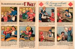 Savon Lesieur. 2 Feuillets De 4 Images Pour La Lessive Lesieur. - Old Paper